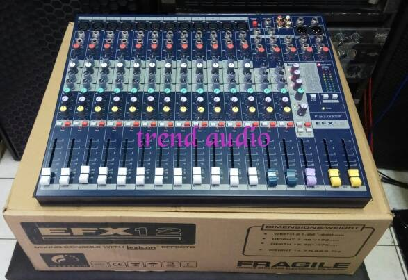 harga Mixer soundcraft efx 12 ( mono full) Tokopedia.com