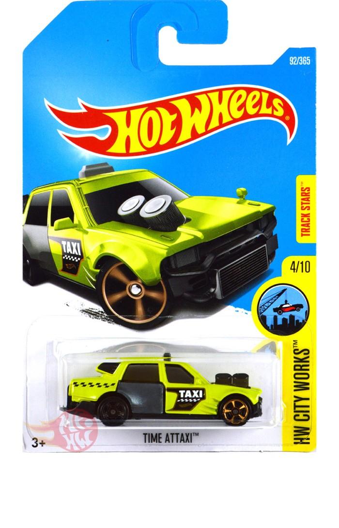 harga Time attaxi hijau / green track stars - hot wheels hw hotwheels Tokopedia.com