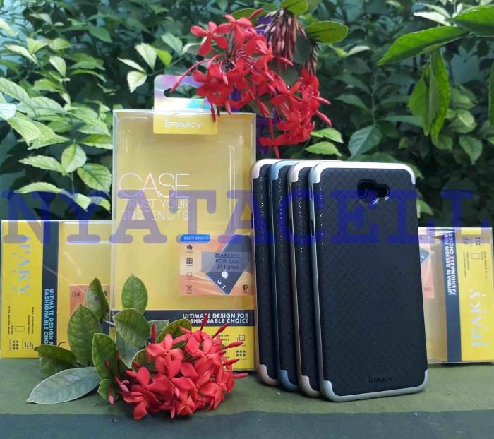 harga 100% original case ipaky samsung j7 prime 2016 soft carbon + frame Tokopedia.com
