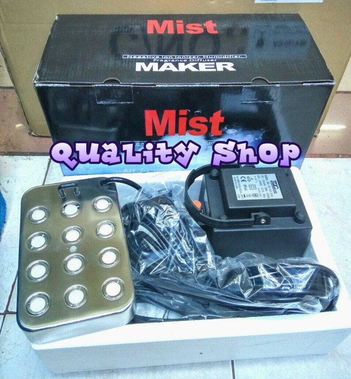 harga Mist maker ultrasonic 12 mata kotak power up Tokopedia.com