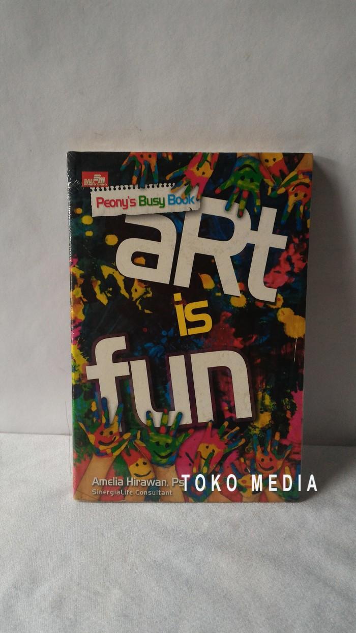 Jual Buku Parenting : Art Is Fun   Meningkatkan Kreativitas Anak -  Volamedia Book Store   Tokopedia