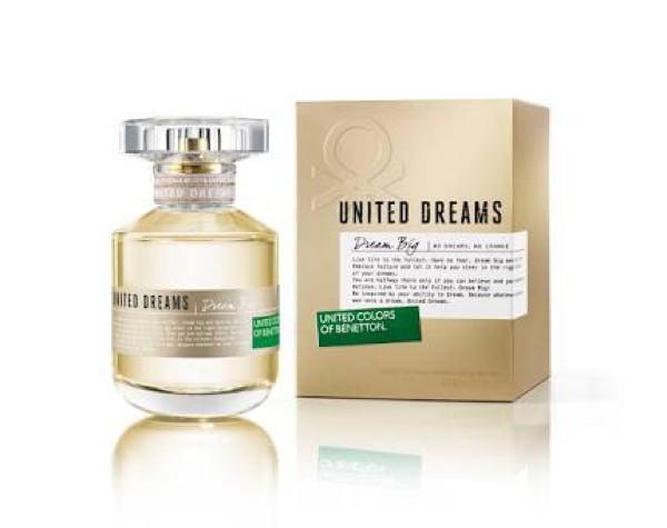 Jual Parfum Original Benetton United Dreams Dream Big Women 80ml Edt
