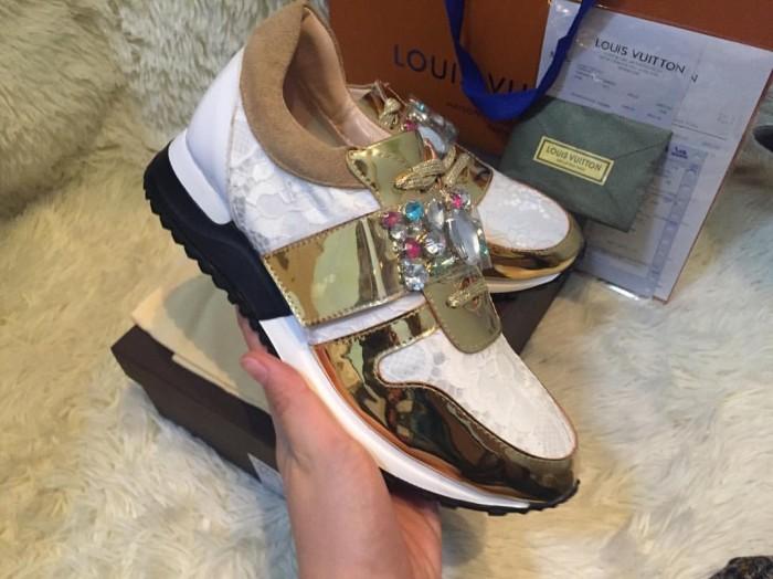 Jual Sepatu sneaker wanita cewek lv louis vuitton kw mirror ... baf833c9a3