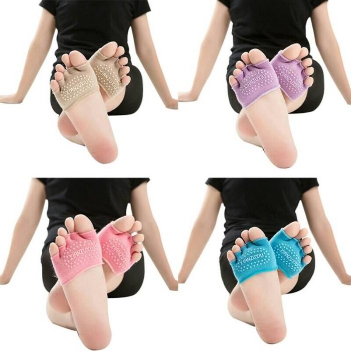 harga Kaos kaki yoga - toeless ankle dance Tokopedia.com