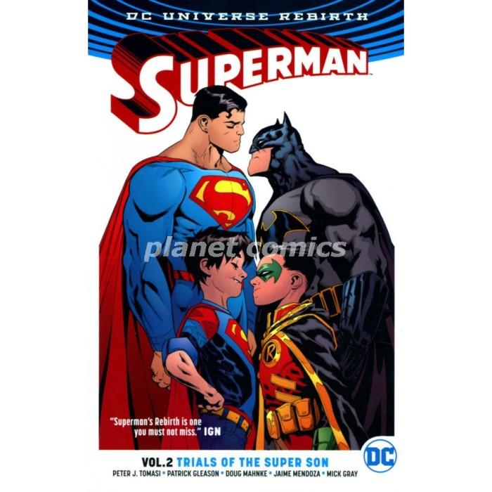 harga Superman tp vol 2 trials of the super son (rebirth) - jan170383 Tokopedia.com
