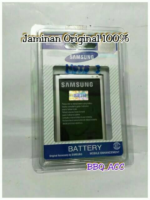 harga Battery samsung galaxy note3 note 3 n9000 original sein 100% baterai Tokopedia.com