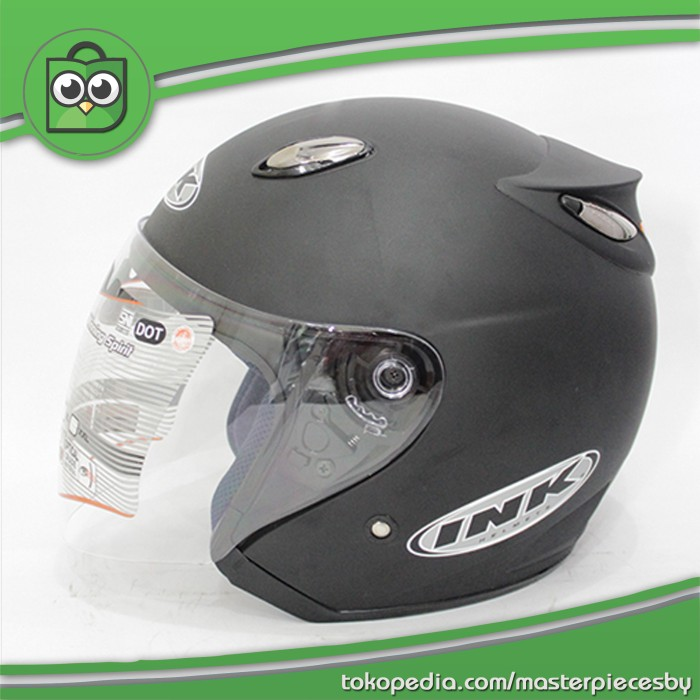 harga Helm ink centro jet black matte / doff [original product]. Tokopedia.com