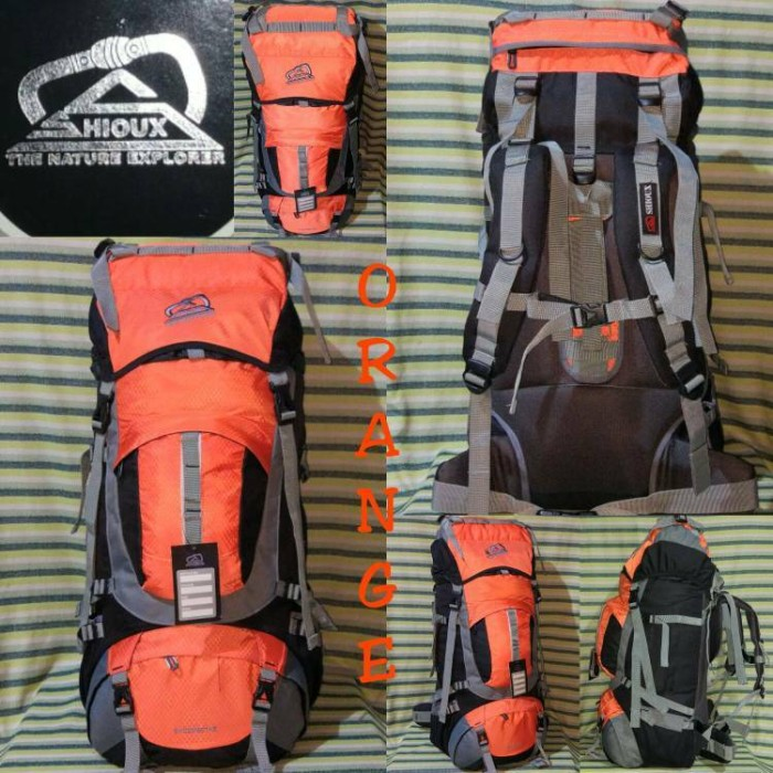 harga Keril tas gunung sioux 100 liter orange not deuter rei cozmeed Tokopedia.com