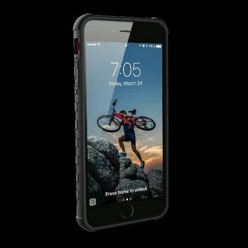 Original UAG Monarch Apple iPhone 7 Plus / 7+ / 6S Plus - Crimson Red