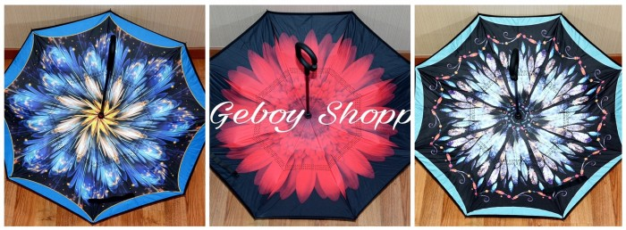 harga Limited edition payung terbalik kazbrella / upside down umbrella Tokopedia.com