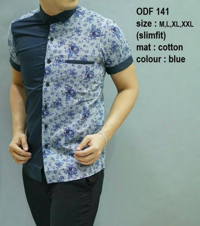 Twenteme Batik Pria Slimfit D 321 Daftar Harga Terupdate dan Source · Batik Pria Kemeja Slimfit