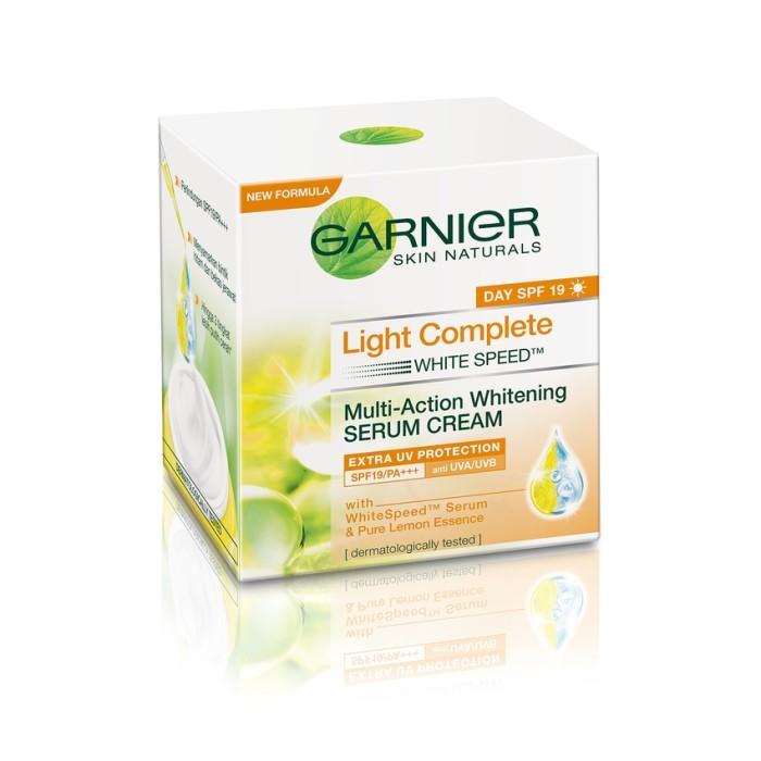 GARNIER LIGHT COMPLETE WHITE SPEED SERUM SPF19 50ml Termurah