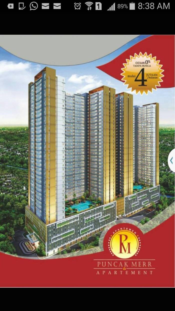 Jual Apartemen Puncak MERR Surabaya Kota Surabaya Abadi Plastik