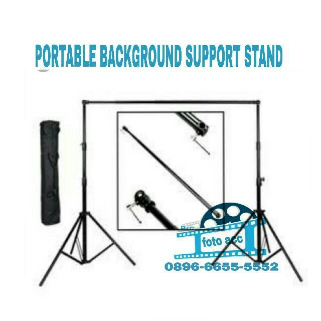 harga Portable background support stand Tokopedia.com