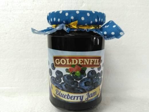 harga Goldenfil Blueberry Jam 350g (50% Buah Asli) Tokopedia.com