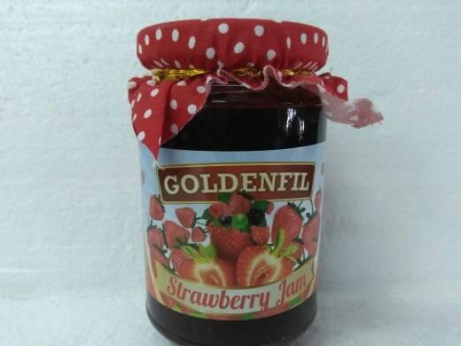 harga Goldenfil Strawberry Jam 350g (50% Buah Asli) Tokopedia.com