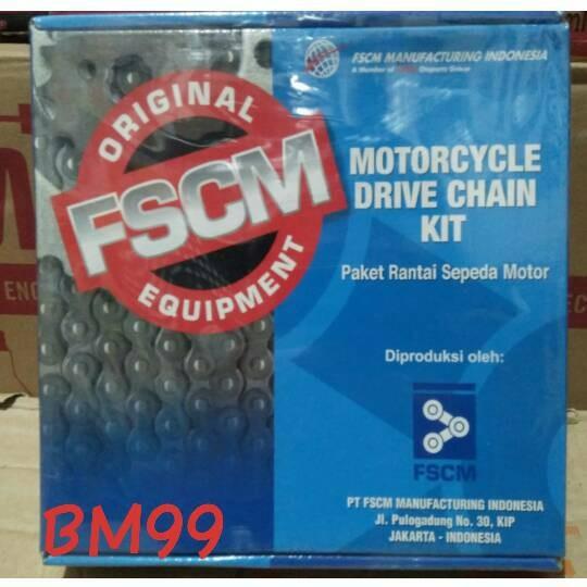 harga Gear set ( drive chain kit ) honda tiger brand fscm Tokopedia.com