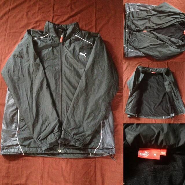 Jual Jaket Running Puma Original - Bintaro second branded  1f5dd00cb5