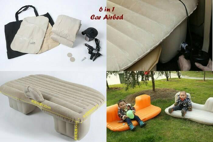 harga Sofabed/ kasur matras mobil nyaman mudik di jalan free 2 bantal Tokopedia.com