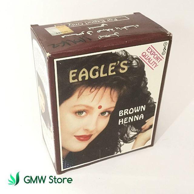 Harga Promo Semir Rambut Herbal Eagle S Brown Henna Hair Dye Coklat