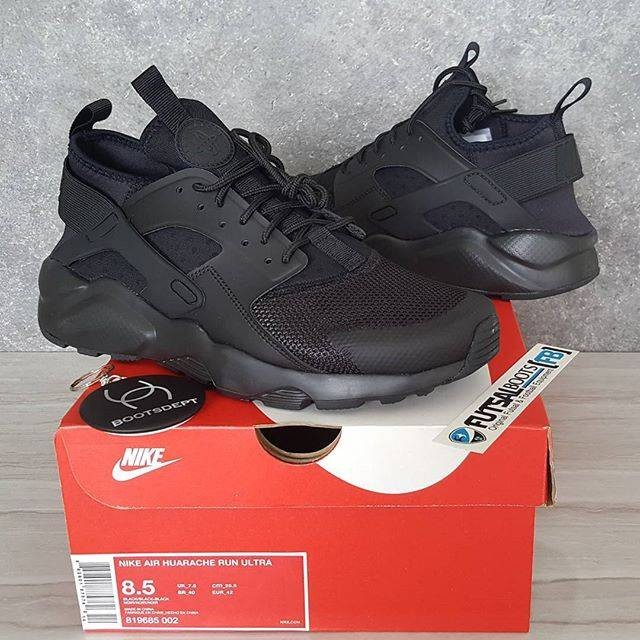 00b069f413487 ... 50% off nike air huarache run ultra triple black 488bd 0ebb0