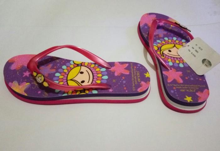 harga Sandal wedges surfer girl purple gliter original murah Tokopedia.com