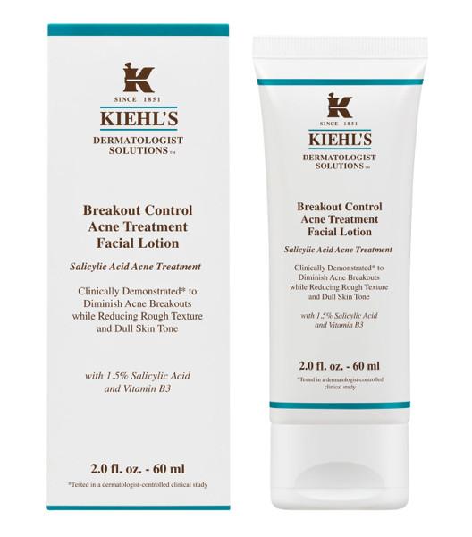 Kiehls breakout control acne treatment facial lotion 60ml