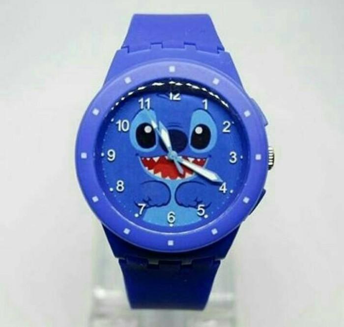 harga Jam tangan custom karakter stitch (bisa custom nama/tanggal/gambar) Tokopedia.com
