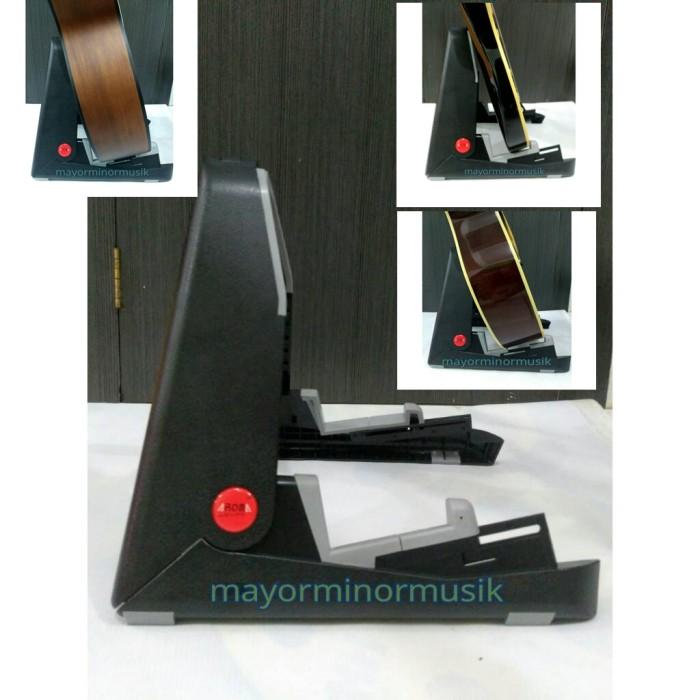 harga Stand lipat gitar elektrik/klasik/akustik universal ags01 Tokopedia.com