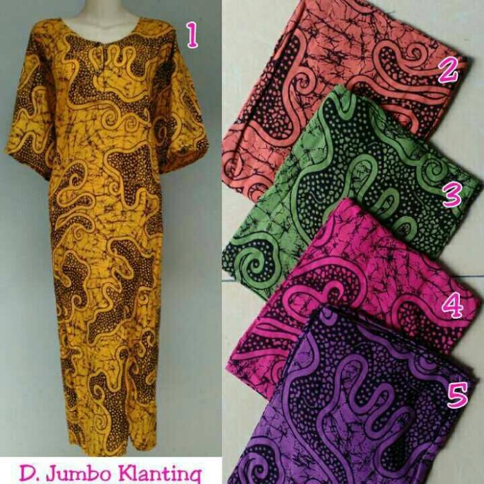Daster jumbo batik pekalongan / baju menyusui / daster jumbo murah