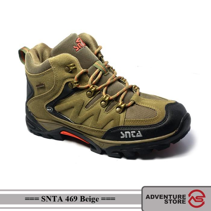 Jual Sepatu SNTA 469 Beige  8e74f83a53