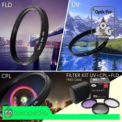 harga Filter kit (mc uv+cpl+fld) 49mm Tokopedia.com