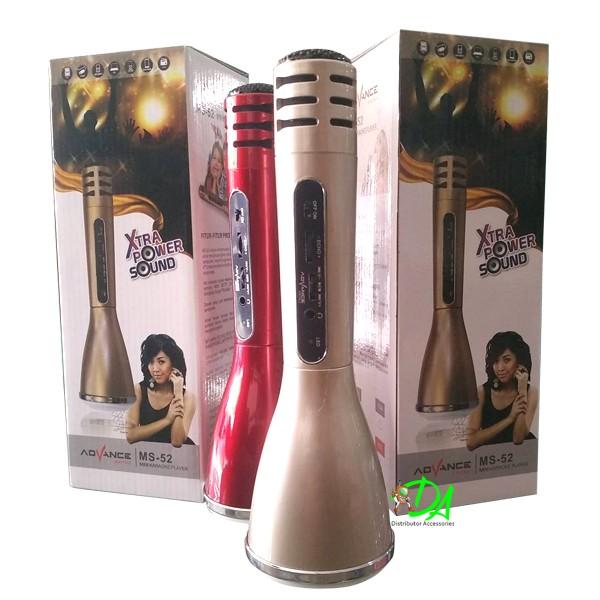 harga Speaker advance ms-52 mini karaoke Tokopedia.com