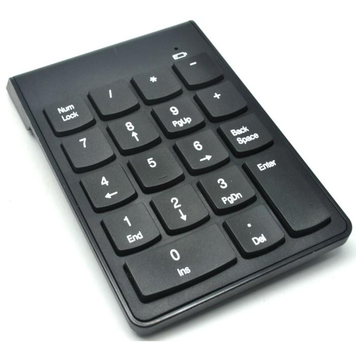 harga Wireless numeric keypad / keyboard angka bluetooth 2.4 ghz Tokopedia.com