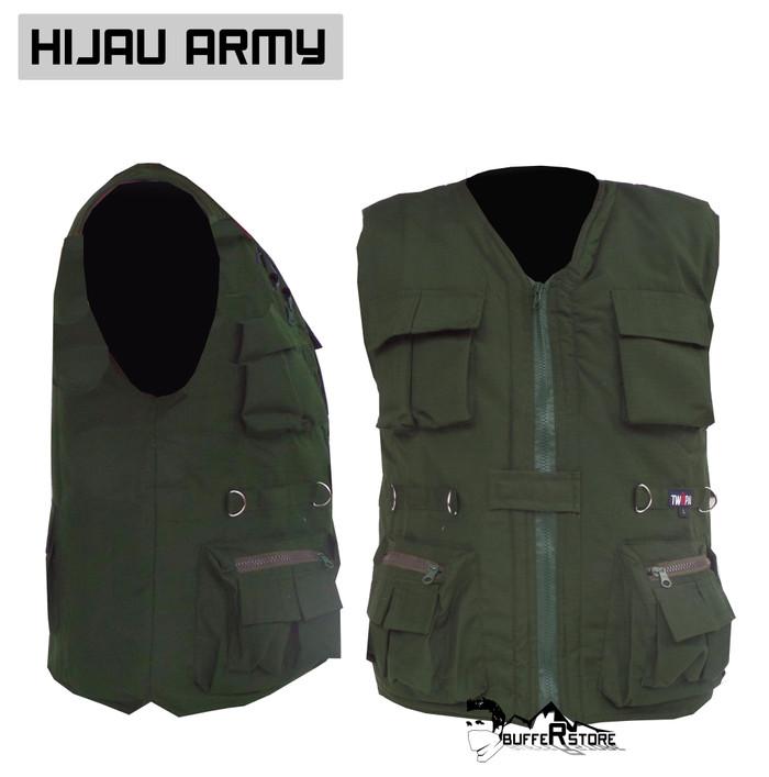 ... Jaket rompi army outdoor keren motor mancing safety hunting Murah