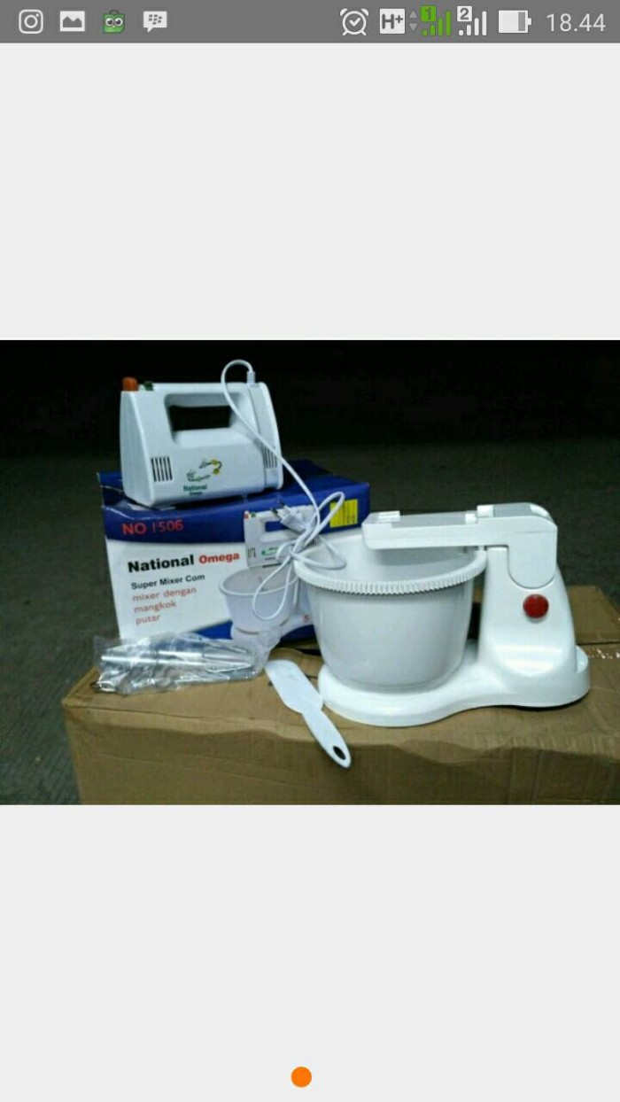Jual Tmixer National Nv 1506 Zeckonee Tokopedia Mixer Natonal Omega