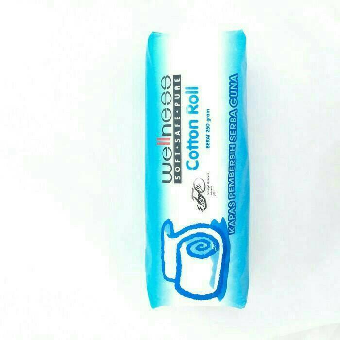 Wellness cotton roll 250gr / kapas gulung wellness