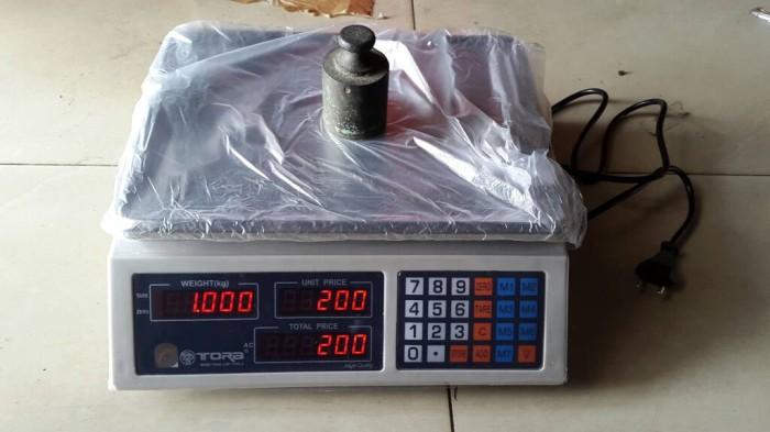 harga Timbangan Digital Duduk/meja Buah/sayur/paket 30kg Tora Tr - Ds11030 Tokopedia.com