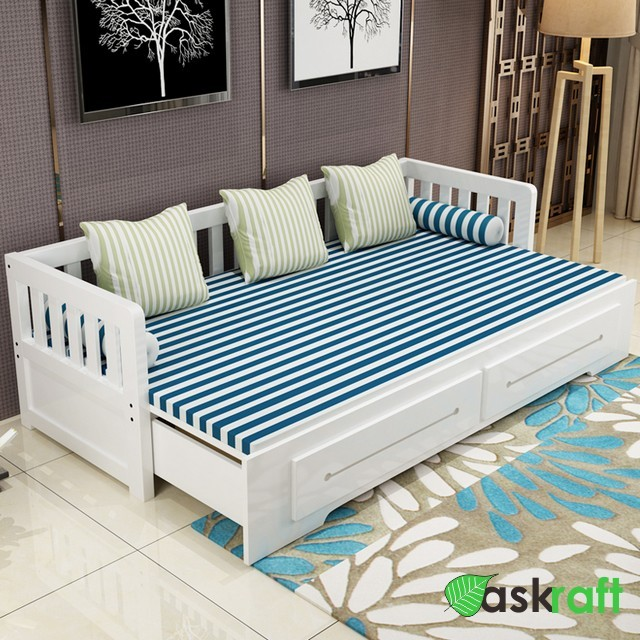 Sofa Bed Minimalis Folding Storage Jati