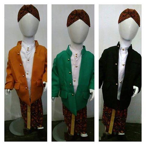 harga Setelan anak beskap baju tradisional jawa kostum kartinian Tokopedia.com