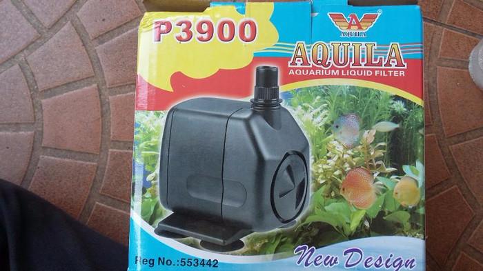Jual spesial pompa aquarium aquila p 3900 /kolam dalam ...