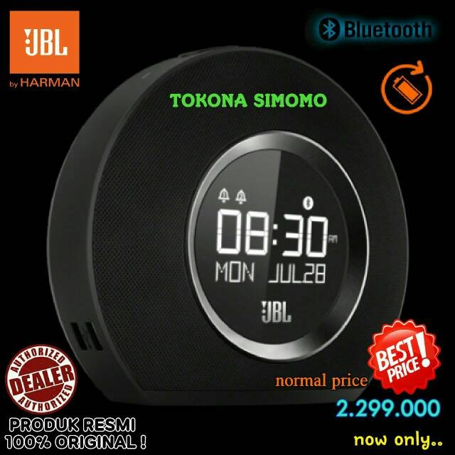 harga Jbl Horizon - Speaker Bluetooth Clock Radio With Usb Charging (black) Tokopedia.com