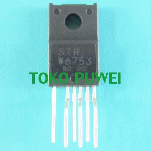 Foto Produk STR-W6753 STRW6753 STR W6753 STRW 6753 Switching Regulators IC BC89 dari toko puwei