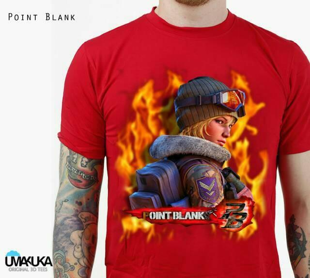 harga Kaos 3d umakuka original bandung - point blank Tokopedia.com