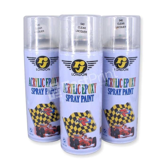 harga Cat pilox spray / pylox semprot rj london warna clear (bening) 400cc Tokopedia.com