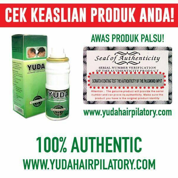 Obat Penumbuh Rambut Botak & Rontok! Yuda Hair Pilatory Solusi Anda!