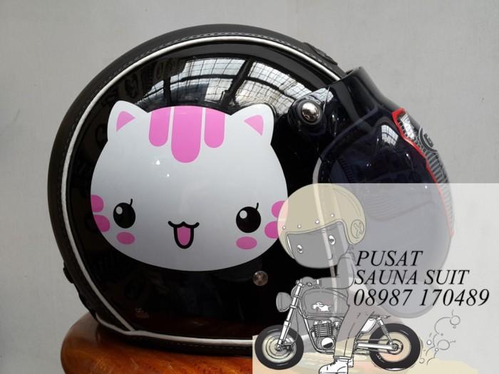 harga Helm bogo gix nasa cat pink / retro / cute Tokopedia.com