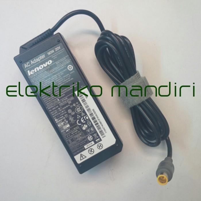 harga Adaptor lenovo thinkpad t60 t61 t400 t410 t420 t510 t520 w500 20v 4.5a Tokopedia.com