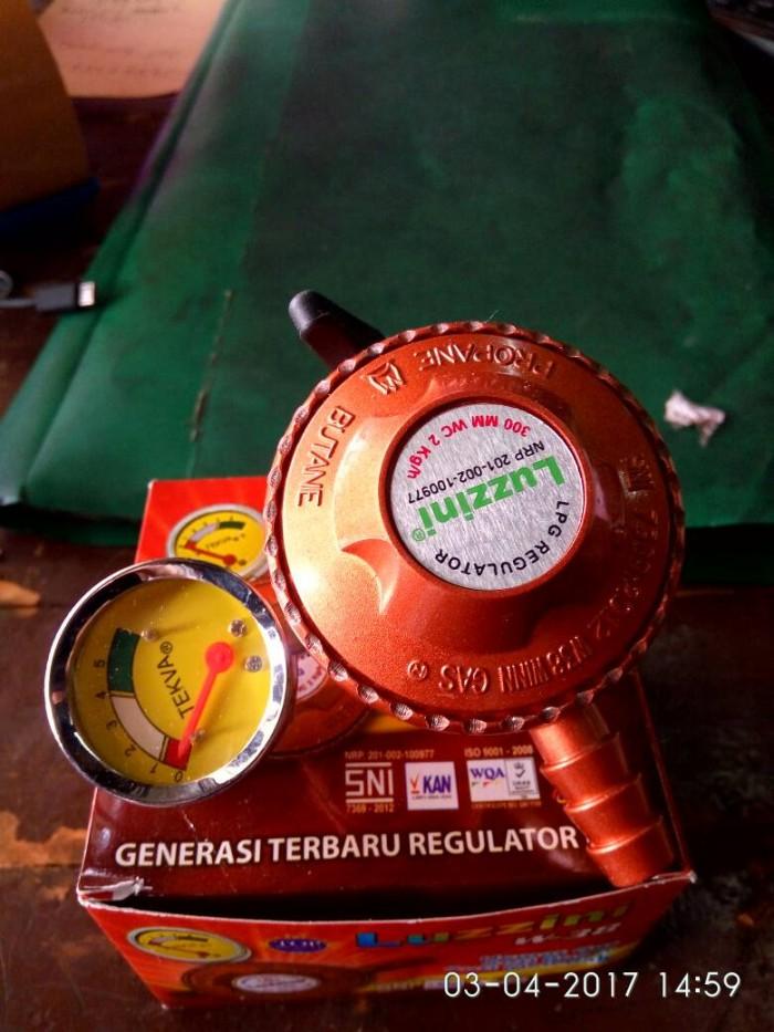 ... harga Regulator lpg otomatis anti bocor ( meteran ) luzzini winn gas Tokopedia.com