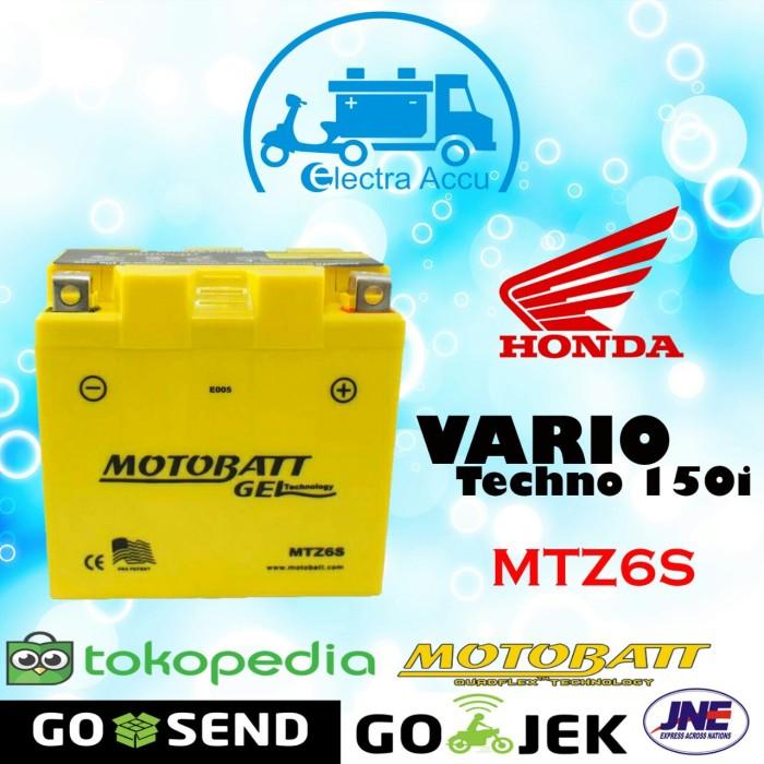 harga Aki motor honda vario techno 150 i motobatt mtz6s aki kering Tokopedia.com